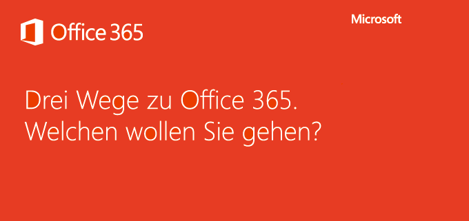 Office 365 Kampagne